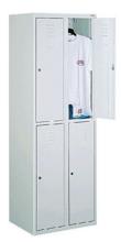99552227 Szafka ze schowkami 0,6-0,8mm, 4 drzwi (wymiary: 1800x600x490 mm)