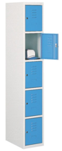 99552275 Szafka ze schowkami 0,8-1,0mm, 5 drzwi (wymiary: 1800x300x490 mm)