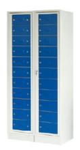 99552378 Szafa do przechowywania czystej i brudnej odzieży, 22 szuflady (wymiary: 1900x820x500 mm)