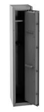 99552646 Szafa do przechowywania broni, 1 drzwi, 1 półka, przystosowana na 4 szt. broni długiej (wymiary: 300x350x1500 mm)