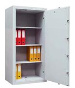 99552663 Sejf gabinetowy dwupłaszczowy 0 klasy, 3 półki, 1 drzwi (wymiary: 1200x540x435 mm)