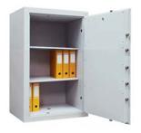 99552677 Sejf gabinetowy dwupłaszczowy II klasy, 2 półki, 1 drzwi (wymiary: 1200x700x520 mm)