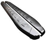 DOSTAWA GRATIS! 01655892 Stopnie boczne, czarne - Dodge Nitro (długość: 161 cm)