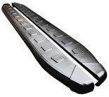 DOSTAWA GRATIS! 01655946 Stopnie boczne, czarne - Nissan Juke (długość: 171 cm)