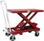 DOSTAWA GRATIS! 03030138 Wózek platformowy nożycowy (udźwig: 750 kg, wymiary platformy: 1010x520 mm)