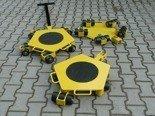 DOSTAWA GRATIS! 12258864 Wózek rotacyjny stały, rolki: 3x nylon (nośność: 2 T)