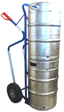 DOSTAWA GRATIS! 13367455 Wózek dwukołowy ręczny do przewozu kręgów oraz skrzynek (nośność: 150 kg)