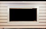 DOSTAWA GRATIS! 30041594 Rama portalowa MILA dąb bielony - wenge / ramka crema / 8 cm