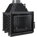 DOSTAWA GRATIS! 30066809 Wkład kominkowy 12kW Zuzia Eco Deco (szyba prosta) - spełnia Ekoprojekt