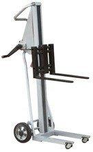 DOSTAWA GRATIS! 310498 Wózek podnośnikowy z wyciągarką (udźwig: 120 kg)