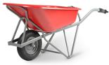 DOSTAWA GRATIS! 39955452 Taczka uniwersalna czerwona (wymiary: 1430x625x870mm)