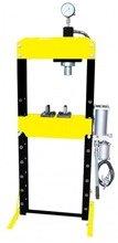 DOSTAWA GRATIS! 44358872 Prasa Hydrauliczna, pneumatyka, ruchomy tłok, regulowany stół (siła nacisku: 10 T)