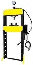 DOSTAWA GRATIS! 44358873 Prasa hydrauliczna, pneumatyka, ruchomy tłok, regulowany stół (siła nacisku: 20 T)