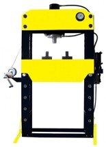 DOSTAWA GRATIS! 44358878 Prasa hydrauliczna, pneumatyka, ruchomy tłok, regulowany stół (siła nacisku: 100 T)