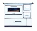 DOSTAWA GRATIS! 50066964 Kuchnia węglowa z piekarnikiem 9,5-16kW na drewno i węgiel (kolor: biały)