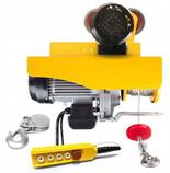 DOSTAWA GRATIS! 55951165 Wyciągarka linowa elektryczna Industrial 500/990 230V, hamulec automatyczny (udźwig: 500/990 kg)  stare 1200 kg + wózek elektryczny 1T