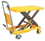 DOSTAWA GRATIS! 85068252 Stół podnośny nożycowy (udźwig: 500 kg, wysokość podnoszenia: 900 mm, wymiary platformy: 855x500x50  mm)