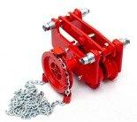 DOSTAWA GRATIS! 9588173 Wózek szynowy do wciągników przejezdnych (udźwig: 8,0 T)