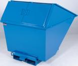 DOSTAWA GRATIS! 99724688 Pojemnik wychylny z pokrywą GermanTech TL 2200 (pojemność: 1700 L)