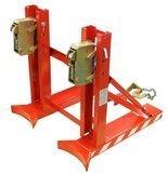DOSTAWA GRATIS! 99724858 Uchwyt do beczek podwójny na wózek widłowy GermanTech DG720A (udźwig: 760 kg)