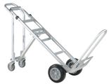 DOSTAWA GRATIS! 99746701 Wózek taczkowy do transportu, aluminiowy GermanTech A 107 (udźwig: 250/350 kg)