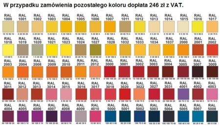 00141962 Szafa biurowa, 2 drzwi (wymiary: 1950x700x600 mm)