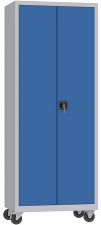 00150625 Szafa narzędziowa na kółkach, 2 drzwi (wymiary: 1950 + koła x800x500 mm)