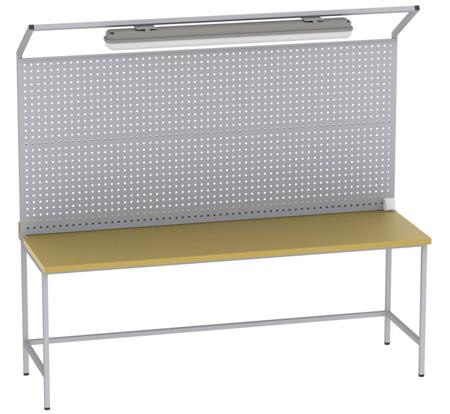 00150643 Tablica perforowana do stołów, biurek bez oświetlenia (wymiary: 960x2000 mm)