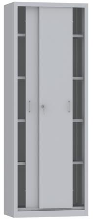 00150796 Szafa przesuwna, 4 półki (wymiary: 1950x700x500 mm)
