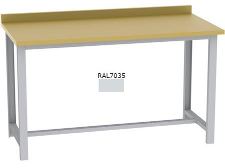 00151317 Stół warsztatowy + 2x szafka warsztatowa + tablica perforowana niska + zawieszka do kluczy/młotek