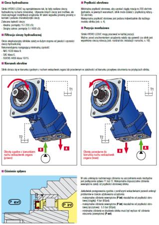 01538902 Silnik hydrauliczny tłoczkowy Hydro Leduc M80 (objętość robocza: 80,4 cm³, maksymalna prędkość ciągła: 4500 min-1 /obr/min)