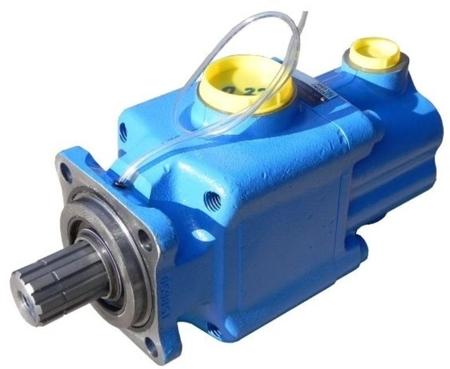 01539124 Pompa hydrauliczna tłoczkowa dwustrumieniowa Hydro Leduc PAC2 25 (objętość geometryczna: 25+25 cm³, maksymalna prędkość obrotowa: 1600 min-1 /obr/min)