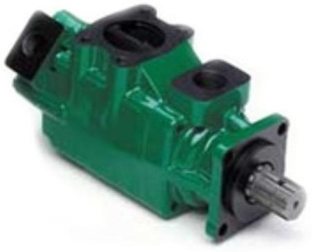01539216 Pompa hydrauliczna łopatkowa dwustrumieniowa B&C HQ31G2812 (objętość geometryczna: 91,2+39,5 cm³, maksymalna prędkość obrotowa: 2500 min-1 /obr/min)