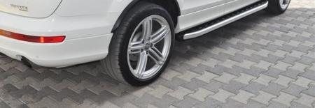 01655676 Stopnie boczne - Audi Q7 2015+ (długość: 205-210 cm)