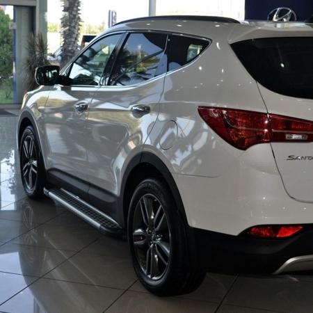 01656012 Stopnie boczne - Hyundai SantaFe 2012- (długość: 171 cm)