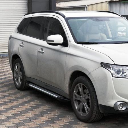 01656053 Stopnie boczne - Nissan Pathfinder R51 2005- (długość: 171 cm)