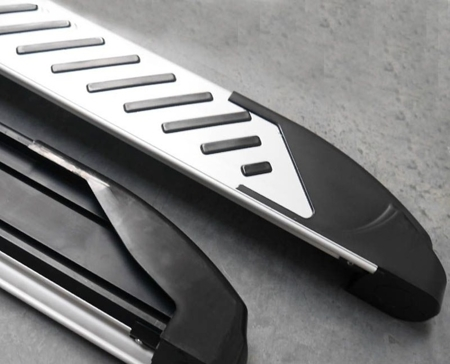 01656308 Stopnie boczne, paski - Kia Sorento 2008-2012 (długość: 171 cm)