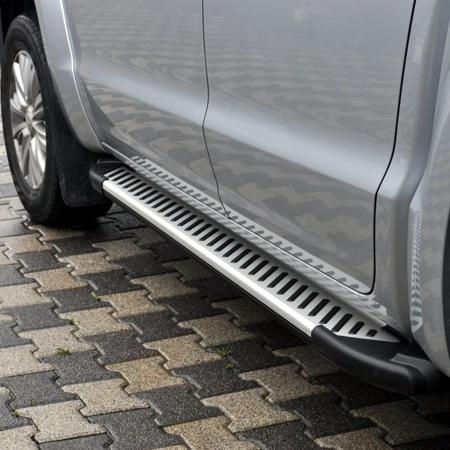 01656365 Stopnie boczne, paski - Volkswagen T5 & T6 2015- long (długość: 252 cm)