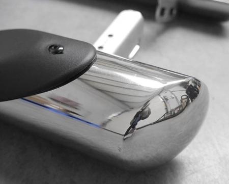 01656369 Orurowanie ze stopniami z zagłębieniami - Ford Transit Custom 2013- SWM (short)