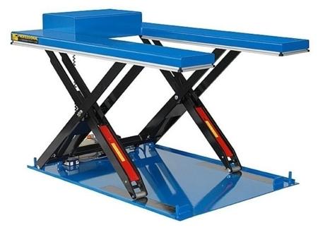 01843672 Podnośnik, podest nożycowy ESS-20/110-2C (udźwig: 2000 kg, wymiary: 1700x900mm, skok: 1100mm, moc: 0,8kW)