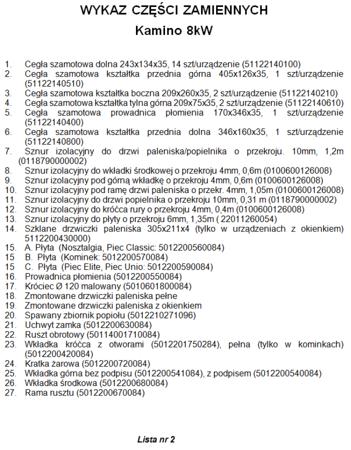 12530146 Piec wolnostojący Wamsler 6kW Kamino 6 Classic  na drewno i węgiel (bez szyby)