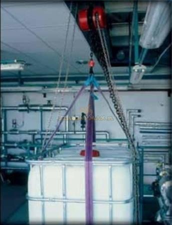 22021358 Wciągnik łańcuchowy z przekładnią planetarną Z100/1.6t (wysokość podnoszenia: 9m, udźwig: 1,6 T)
