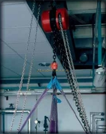2202687 Wciągnik łańcuchowy z przekładnią planetarną Z100/250kg (wysokość podnoszenia: 3m, udźwig: 250 kg)