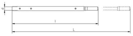 2203106 Wciągnik linowy 30.10/0.8t (długość liny: 20m, udźwig: 0,8 T)