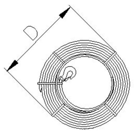 2203112 Wciągnik linowy 30.00/1.6t (długość liny: 40m, udźwig: 1,6 T)