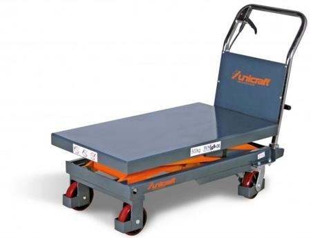 44340149 Stół nożycowy z podnośnikiem hydraulicznym Unicraft FHT 500 (udźwig: 500 kg)