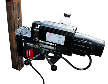44349737 Wiertarka magnetyczna Rotabroach Commando 40 (moc: 1100W, max. głębokość wiercenia: 40x50mm, prędkość: 350-600 obr/min)