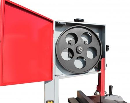 44349940 Piła taśmowa Holzmann HBS 400 400V (wymiary obrabianego przedmiotu: 380/220 mm, wymiary blatu: 500x400 mm)