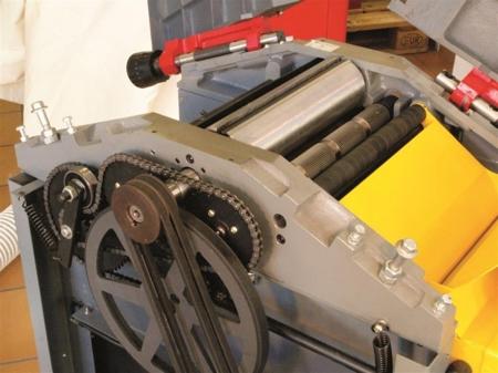 44349954 Strugarko-grubosciówka HOB 260N 230V (szerokość/wysokość obróbki: 250/180 mm, długość blatu wyrówniarki: 1085 mm)
