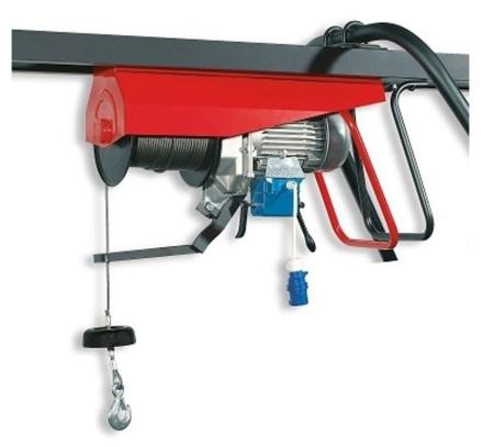 55547211 Wciągarka budowlana elektryczna Bellussi HE 300 MF Invertitore z przełącznikiem (udźwig: 300 kg, długość liny: 25m)